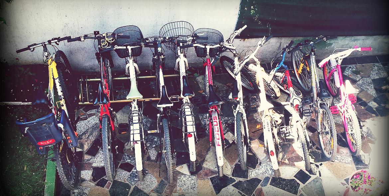 bikes)